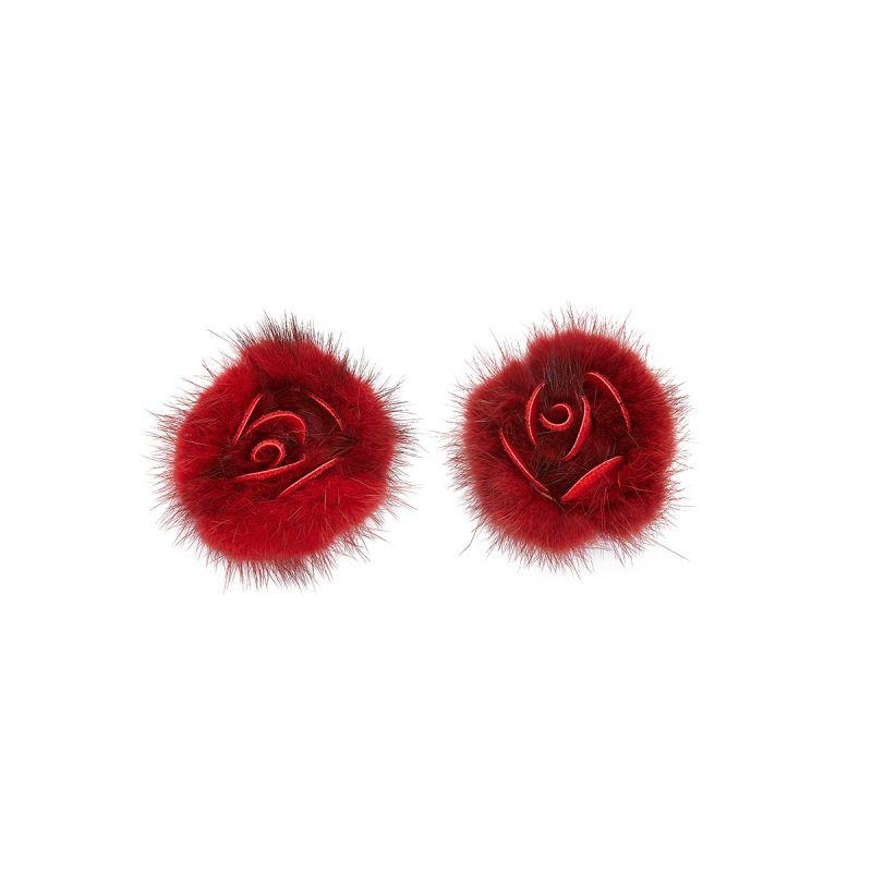 Red Fur Rose